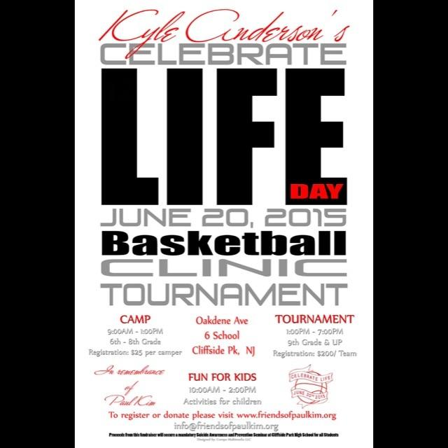 Kyle Anderson's Celebrate Life Day and Basketball Clinic