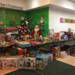 Toys donated to the Lincoln School Annex by the Fairview Police Department for the holidays!