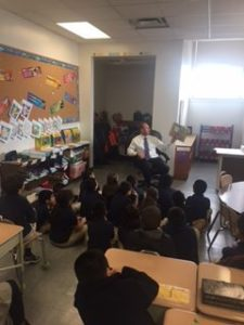 Read Across America Program at Number Three School on March 2, 2017