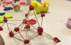 Mrs. McGrath's third graders enjoying a STEAM Engineering Challenge.