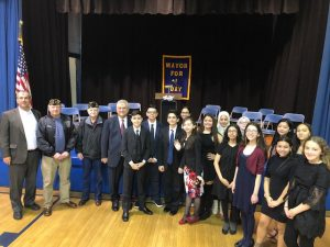 Photo of Mayor for a Day participants.