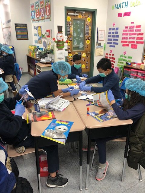"Picture depicting ""Surgery"" in Ms. Weston's Grade 3 Class"